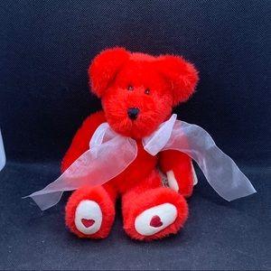 "Boyds ""Huggleby B. Bearikind"" Valentine Bear"